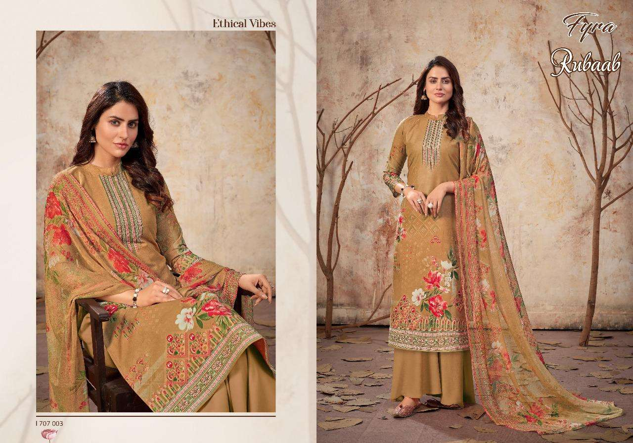 02 Alok suit  Rubaab cotton with digital suit collection