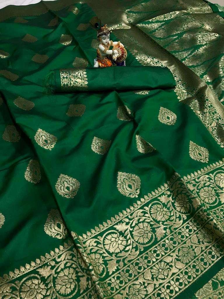 08 Banarasi silk party wear saree collection