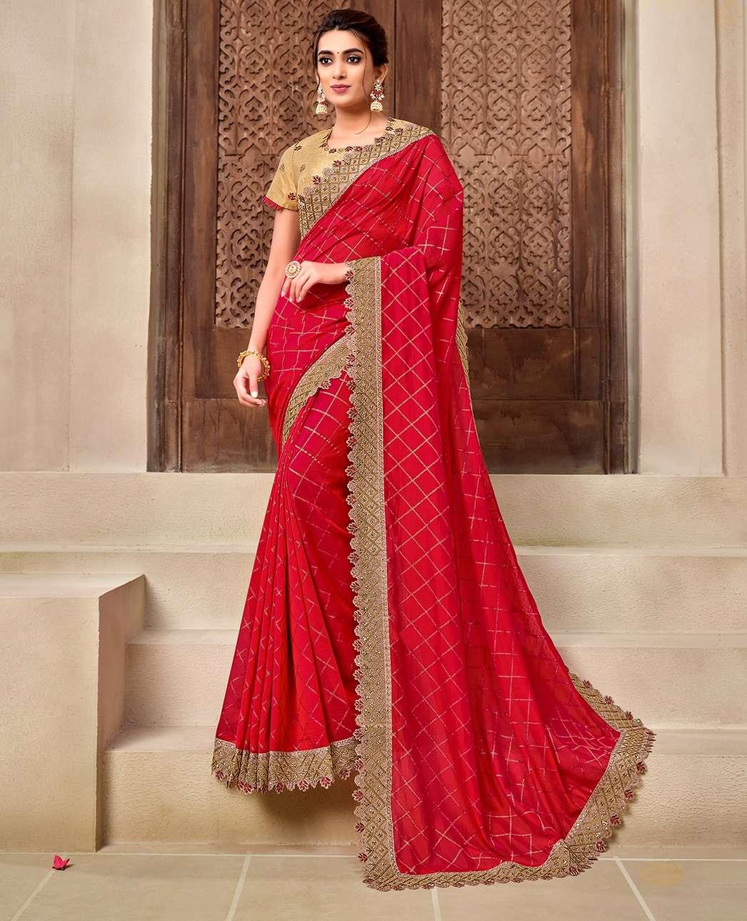 WEDDING PARTY WEAR SAREES INDIAN SAREE 11908