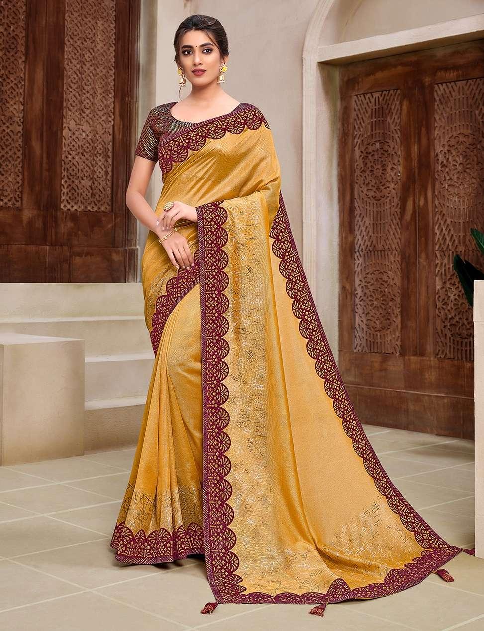 WEDDING PARTY WEAR SAREES INDIAN SAREE 11919