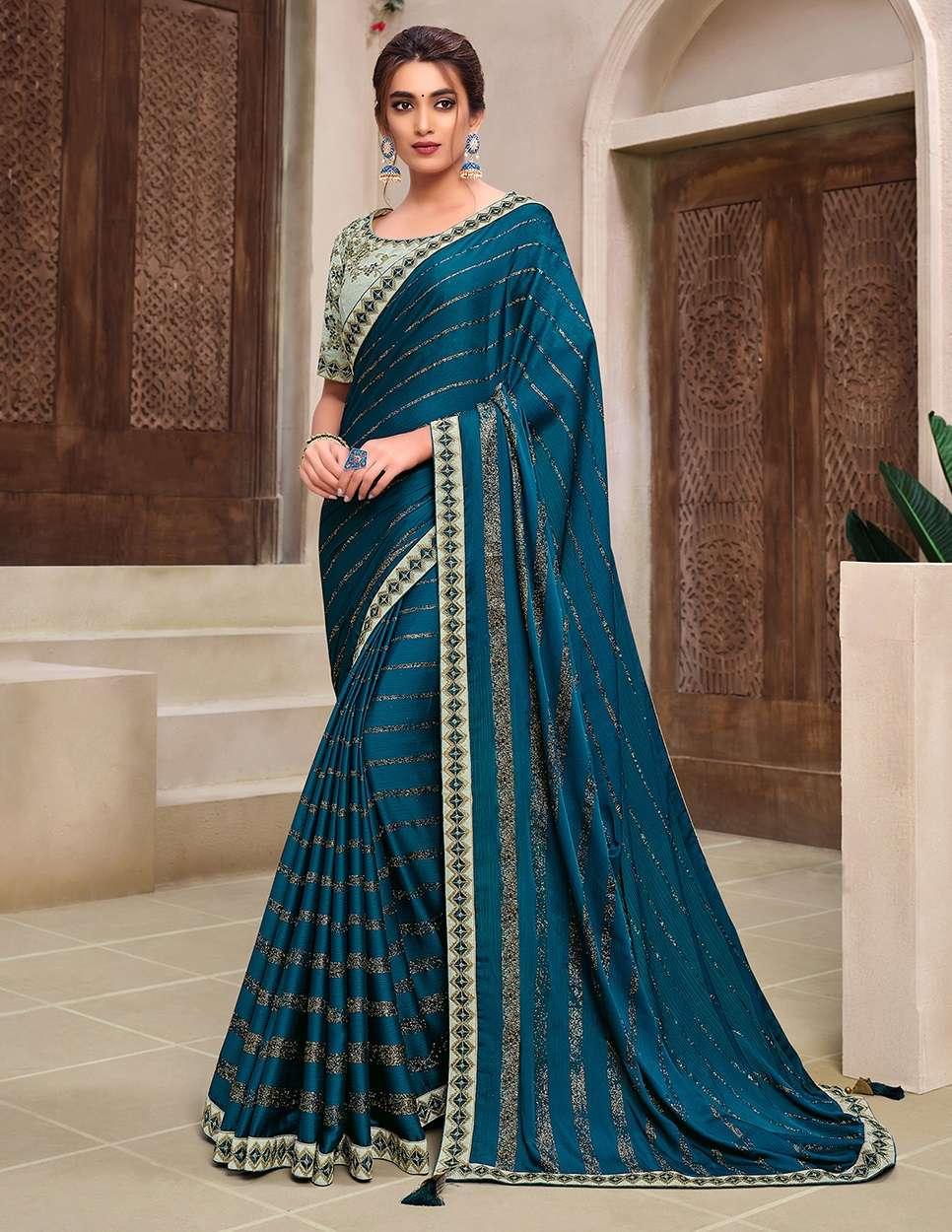 WEDDING PARTY WEAR SAREES INDIAN SAREE 11920