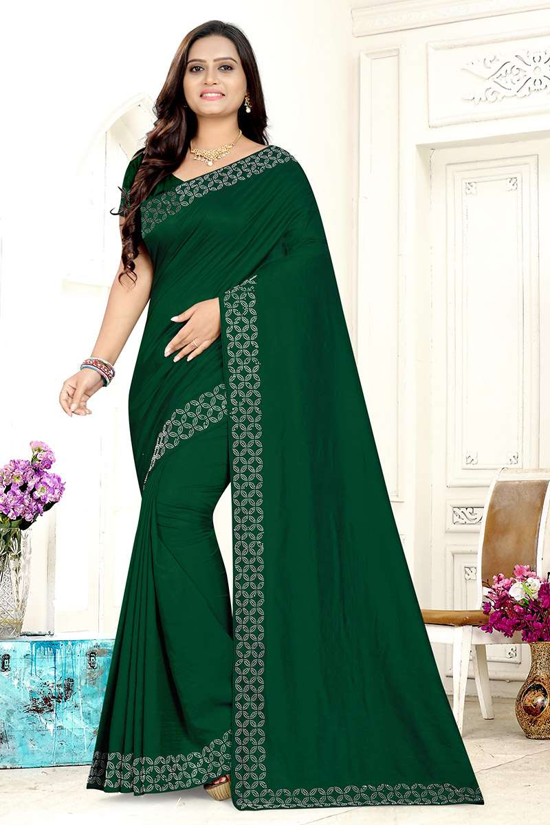 EXCLUSIVE PARTY WEAR SILK SAREES BOUTIQUE STYLE SAREES COLLECTION 01