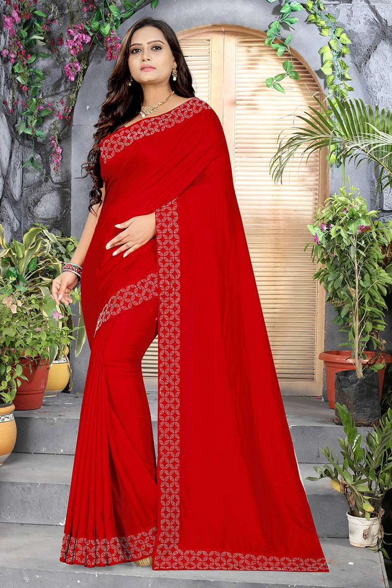 EXCLUSIVE PARTY WEAR SILK SAREES BOUTIQUE STYLE SAREES COLLECTION 02