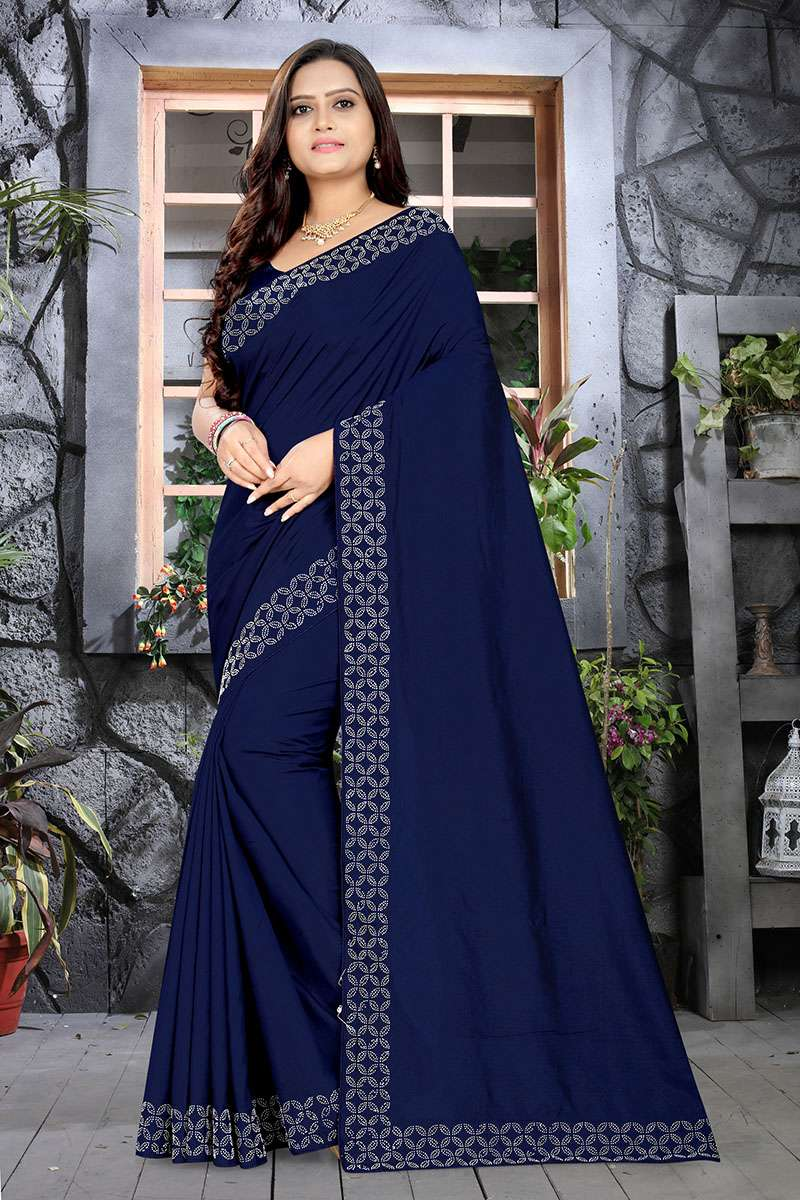 EXCLUSIVE PARTY WEAR SILK SAREES BOUTIQUE STYLE SAREES COLLECTION 03