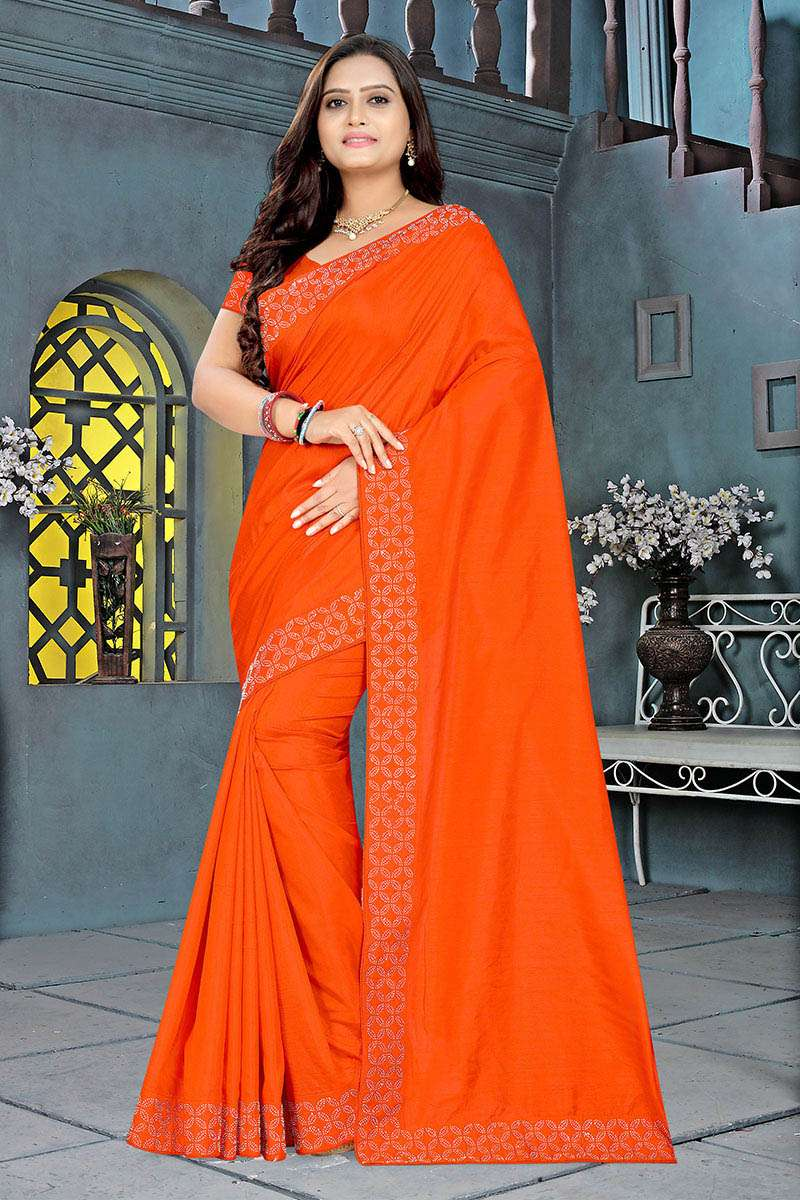 EXCLUSIVE PARTY WEAR SILK SAREES BOUTIQUE STYLE SAREES COLLECTION 04