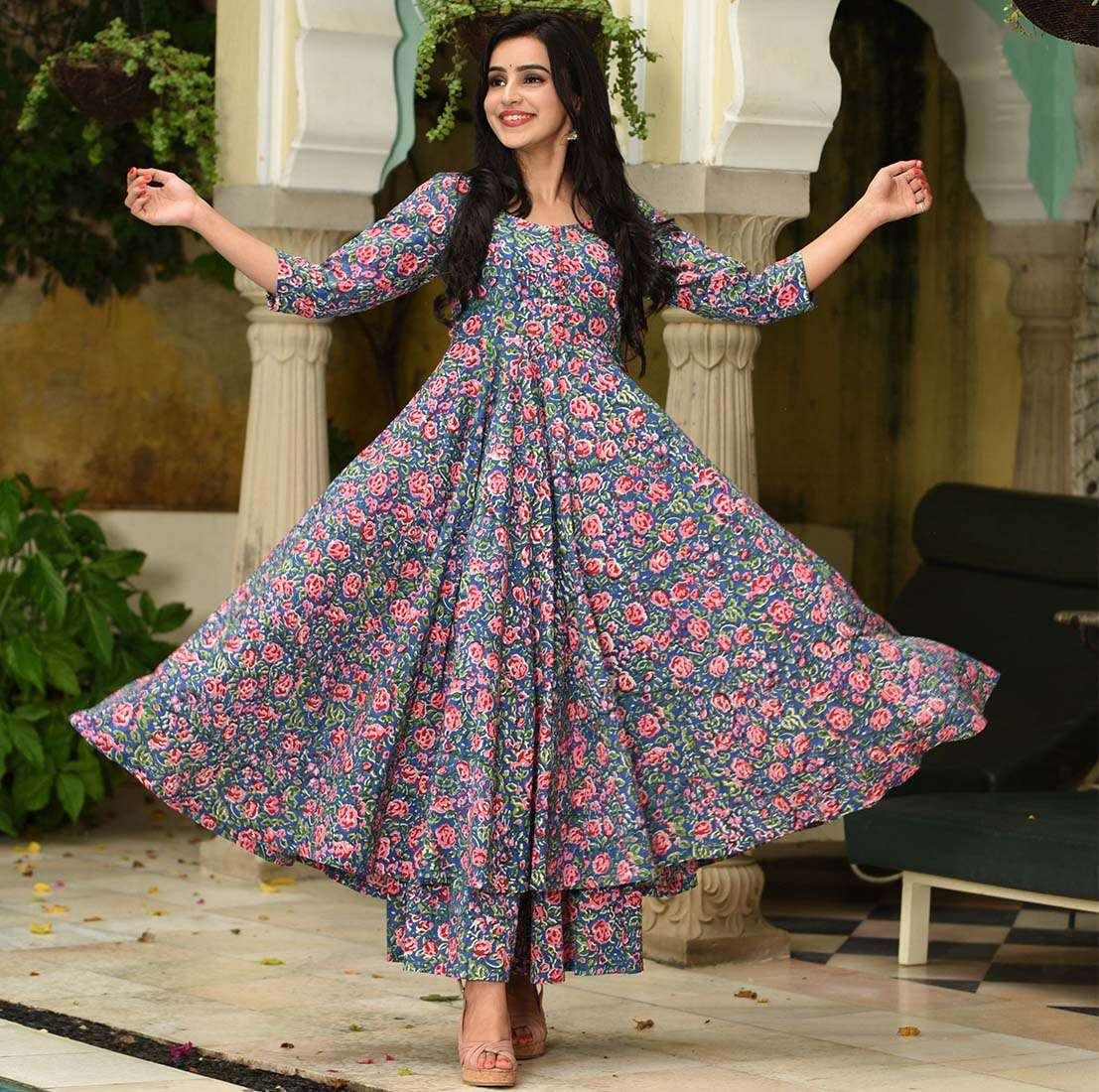 LATEST DESIGNER KURTIS PALAZZO PARTY WEAR COLLECTION 05