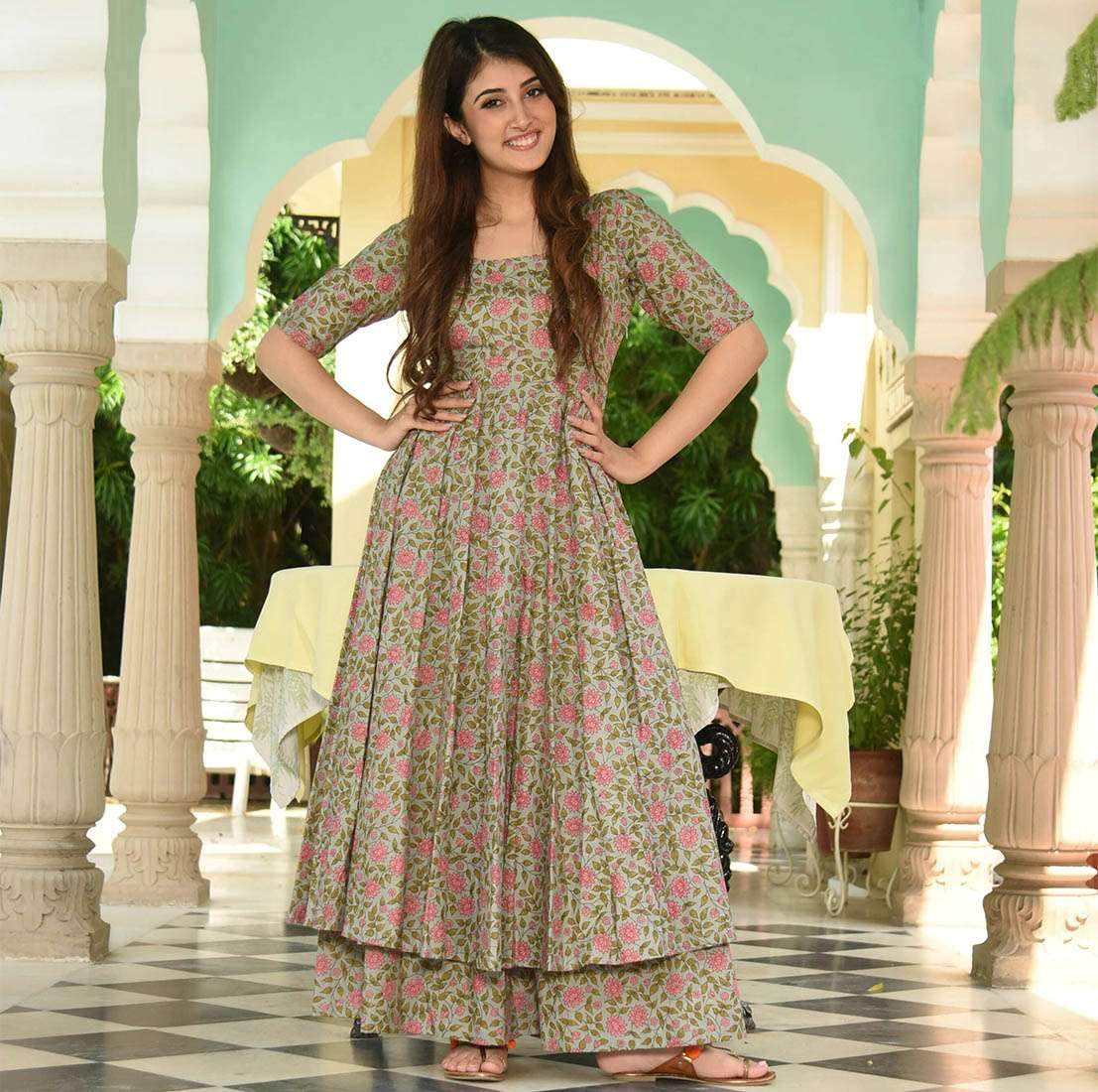 LATEST DESIGNER KURTIS PALAZZO PARTY WEAR COLLECTION 06