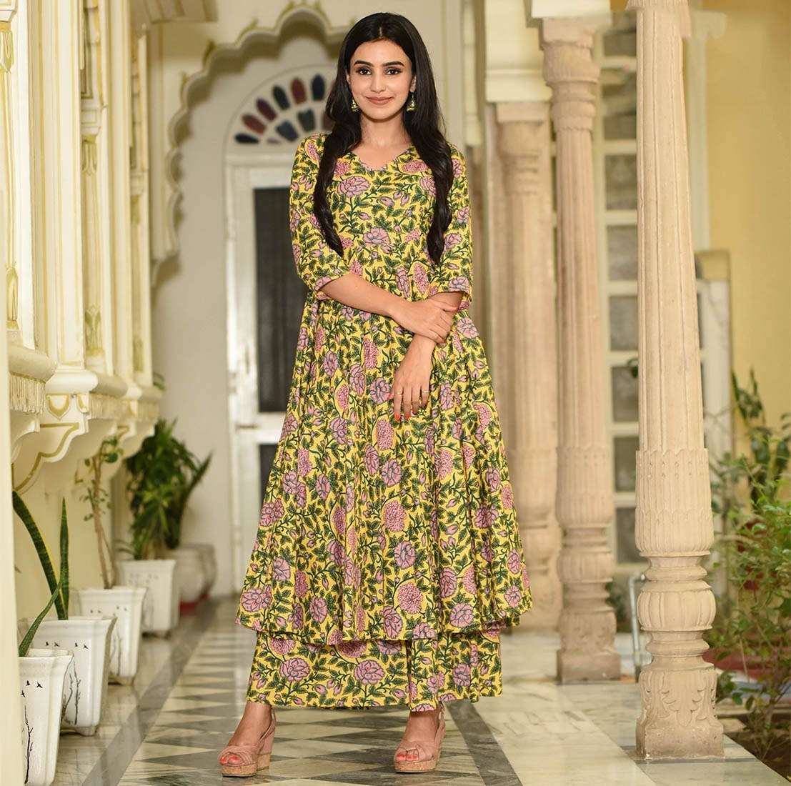LATEST DESIGNER KURTIS PALAZZO PARTY WEAR COLLECTION 10