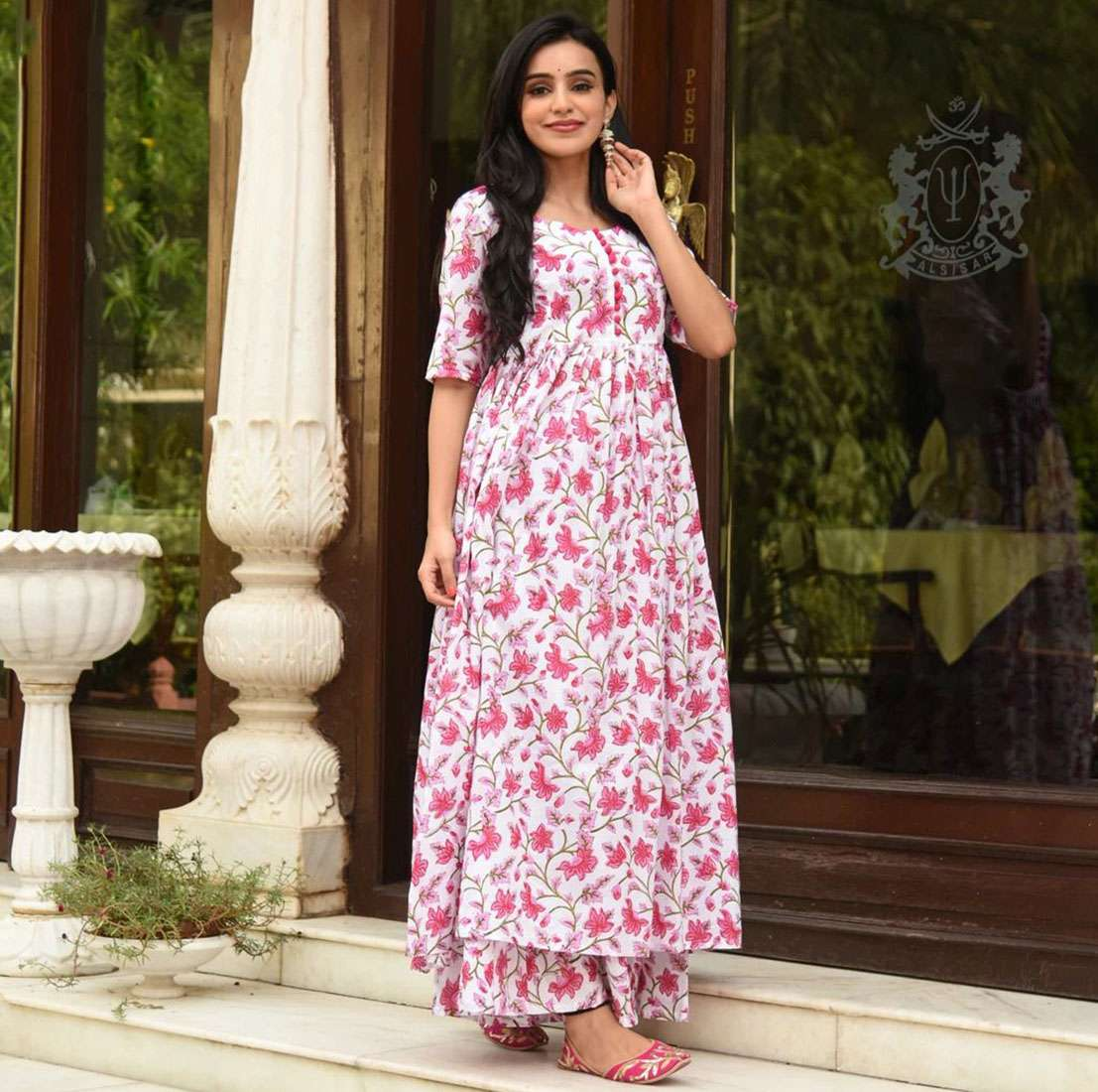 LATEST DESIGNER KURTIS PALAZZO PARTY WEAR COLLECTION 11