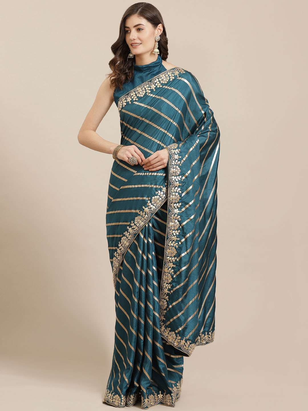 EXCLUSIVE PARTY WEAR SILK SAREES BOUTIQUE STYLE SAREES COLLECTION 14