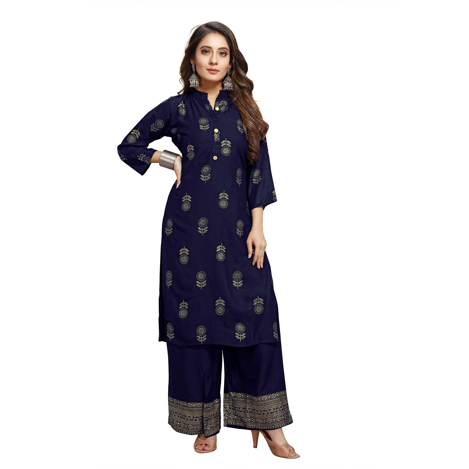 LATEST DESIGNER KURTIS PALAZZO PARTY WEAR COLLECTION 45