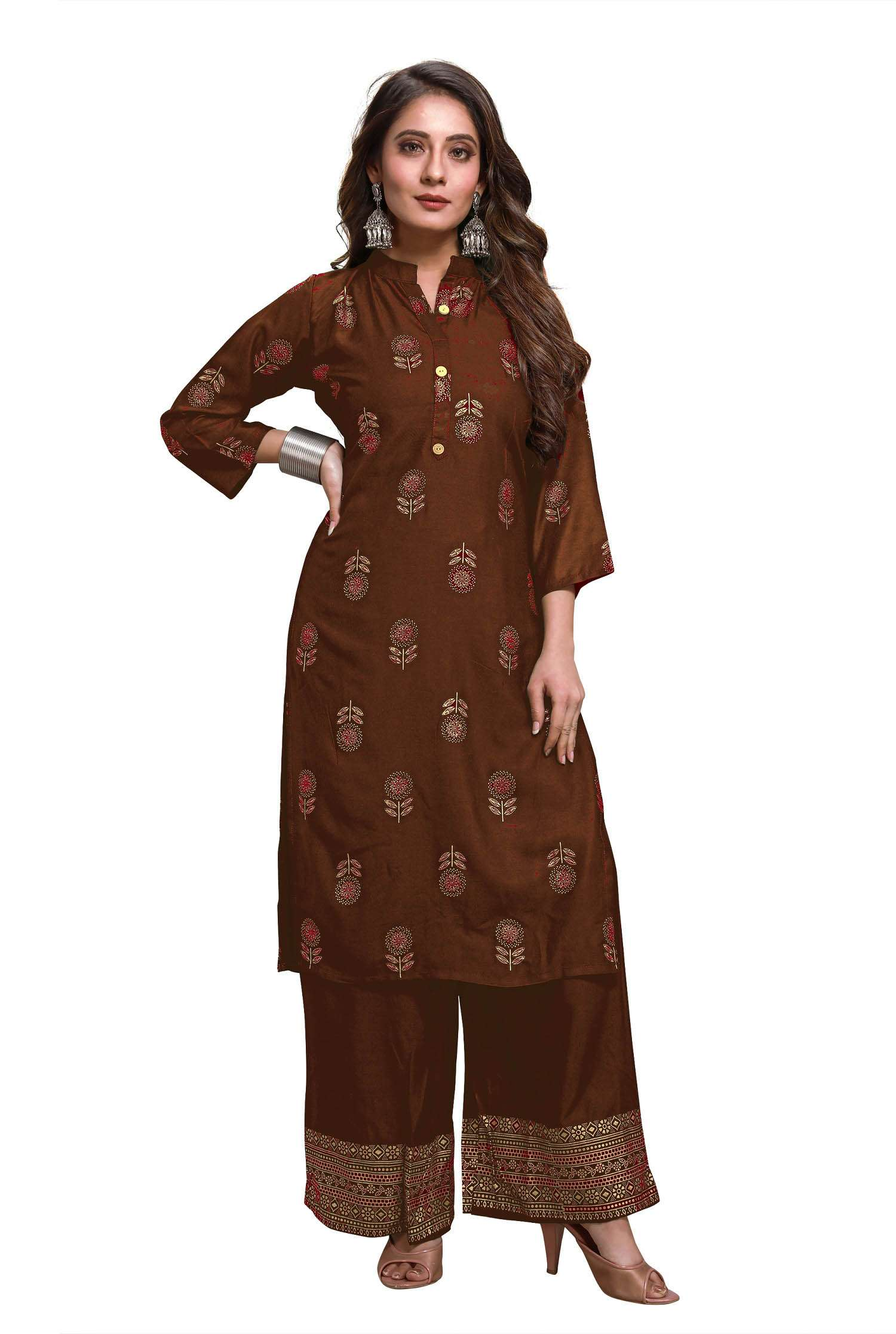 LATEST DESIGNER KURTIS PALAZZO PARTY WEAR COLLECTION 46