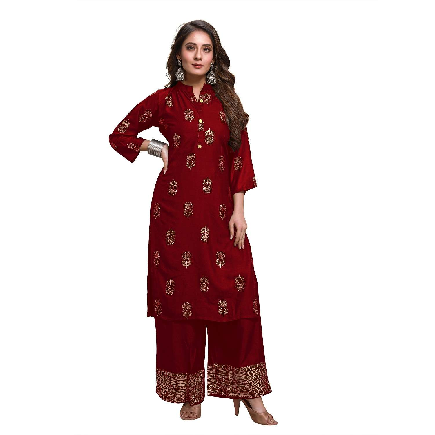 LATEST DESIGNER KURTIS PALAZZO PARTY WEAR COLLECTION 48