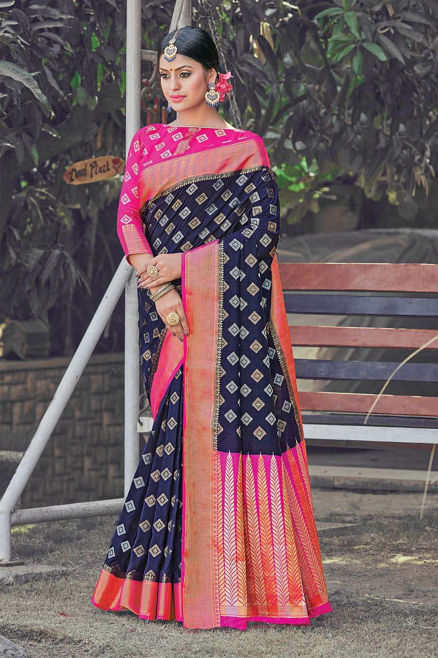 EXCLUSIVE PARTY WEAR SILK SAREES BOUTIQUE STYLE SAREES COLLECTION 26