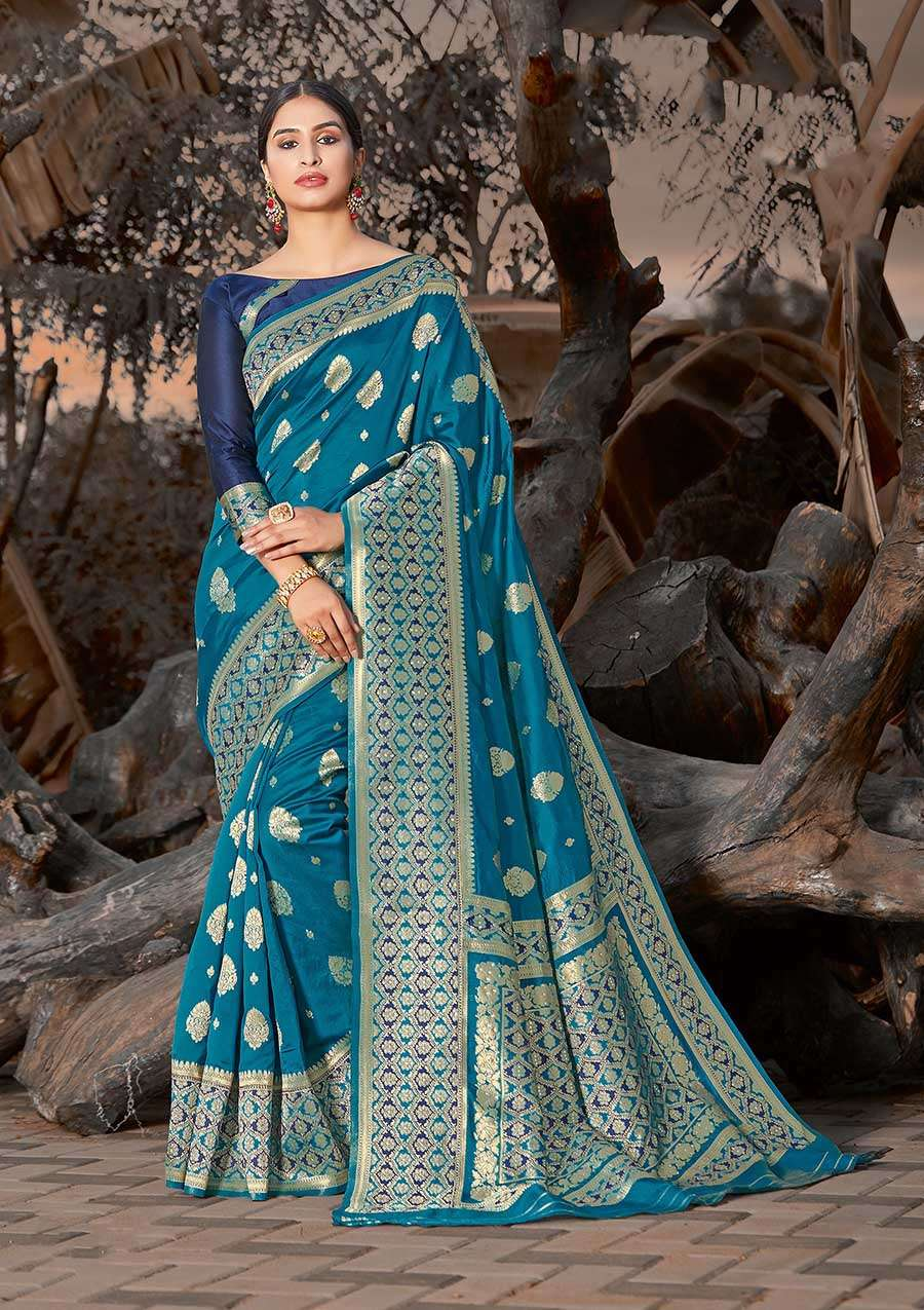 EXCLUSIVE PARTY WEAR SILK SAREES BOUTIQUE STYLE SAREES COLLECTION 29