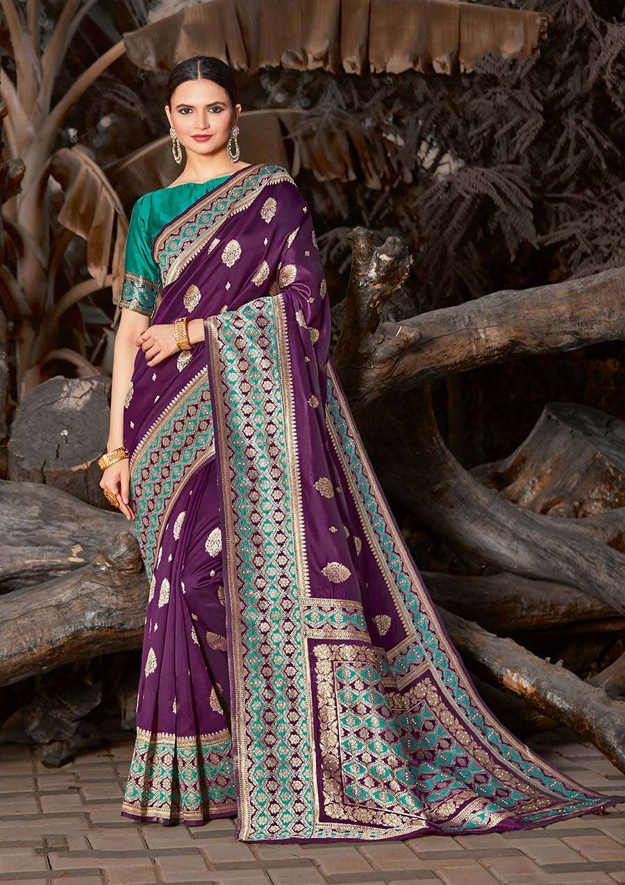 EXCLUSIVE PARTY WEAR SILK SAREES BOUTIQUE STYLE SAREES COLLECTION 30