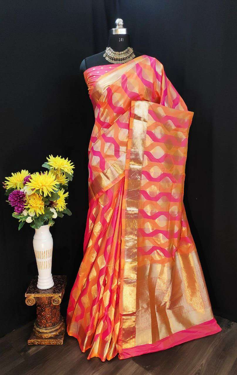 EXCLUSIVE PARTY WEAR SILK SAREES BOUTIQUE STYLE SAREES COLLECTION 33