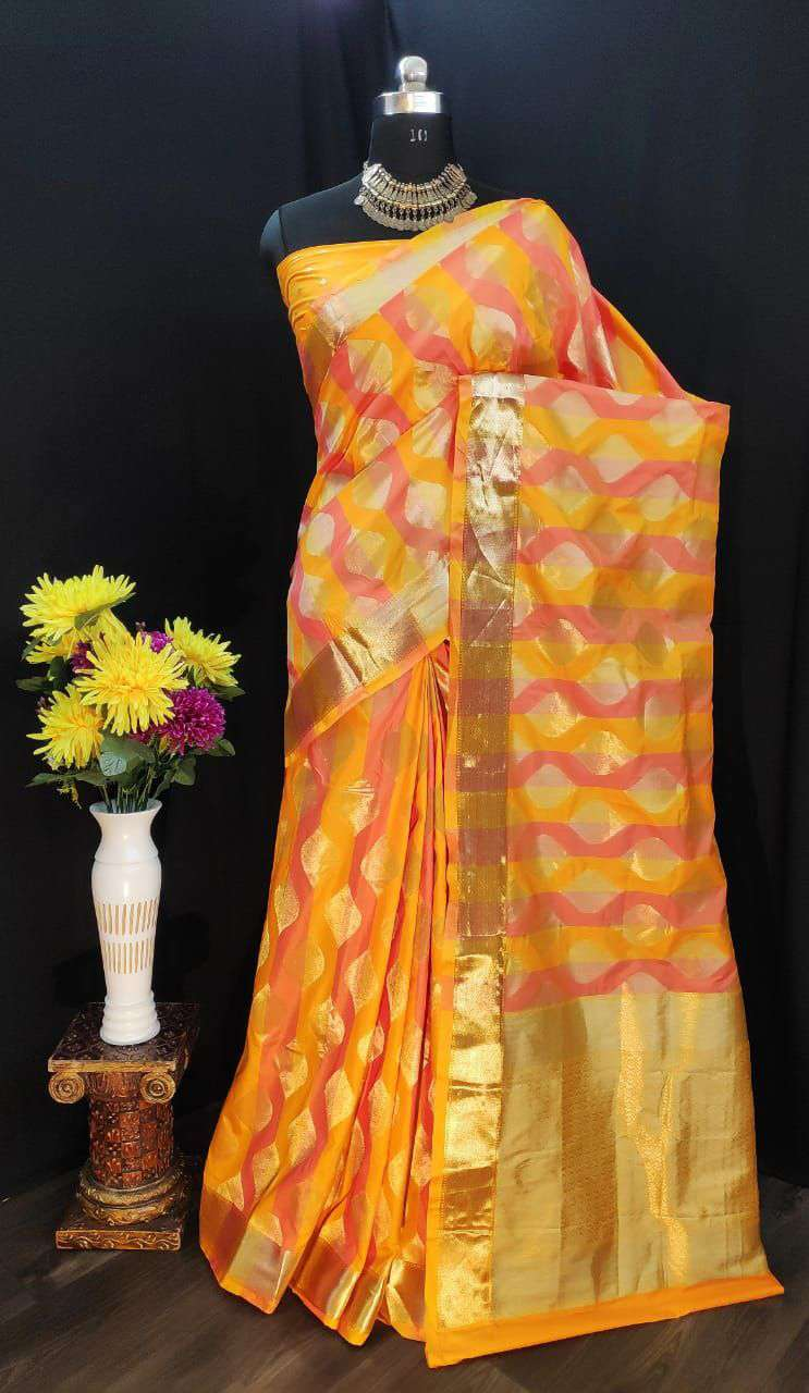 EXCLUSIVE PARTY WEAR SILK SAREES BOUTIQUE STYLE SAREES COLLECTION 34
