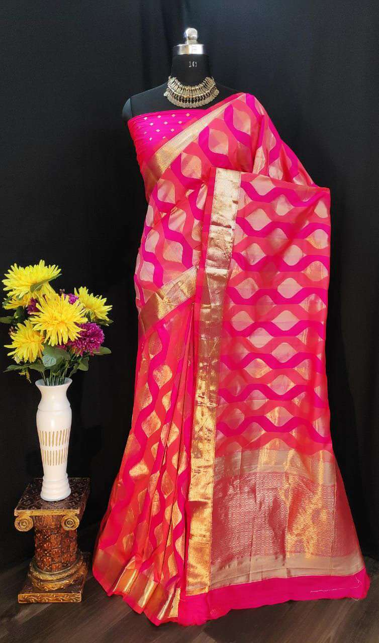 EXCLUSIVE PARTY WEAR SILK SAREES BOUTIQUE STYLE SAREES COLLECTION 35