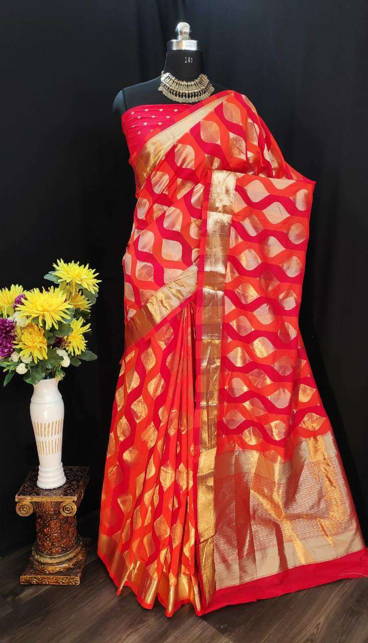 EXCLUSIVE PARTY WEAR SILK SAREES BOUTIQUE STYLE SAREES COLLECTION 36