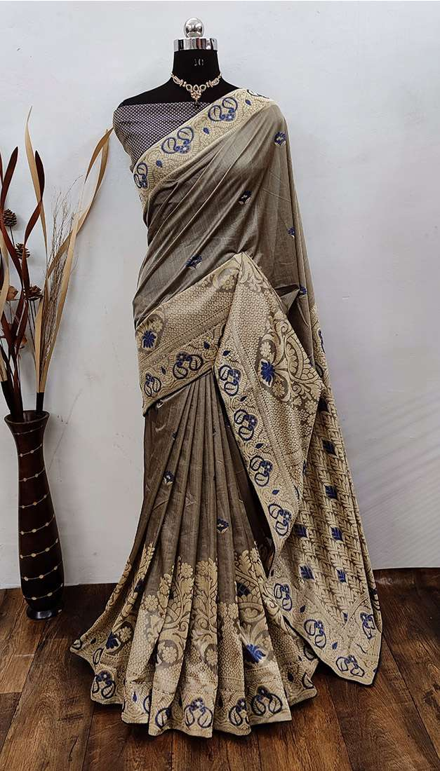 EXCLUSIVE PARTY WEAR SILK SAREES BOUTIQUE STYLE SAREES COLLECTION 38