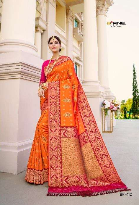 B Fine Kadwa Weave Soft Silk Traditional Sarees collection
