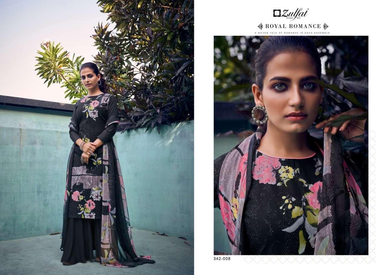Belliza Designer Studio Zulfat Summer Fiesta Pure Cotton Digital Print Dress Material Collection 09