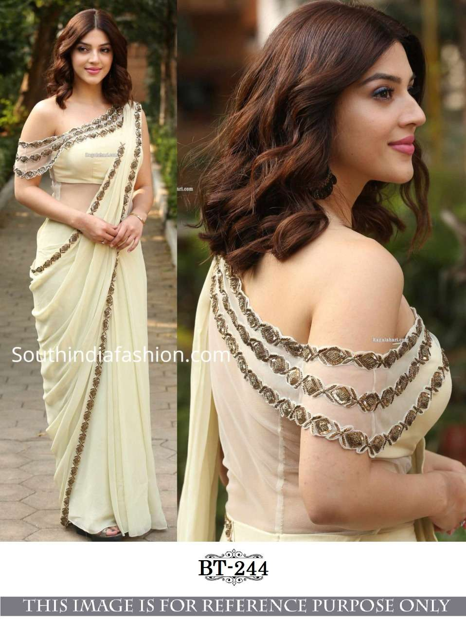 georgette with  Fancy Thread & Sequnce Work saree collection