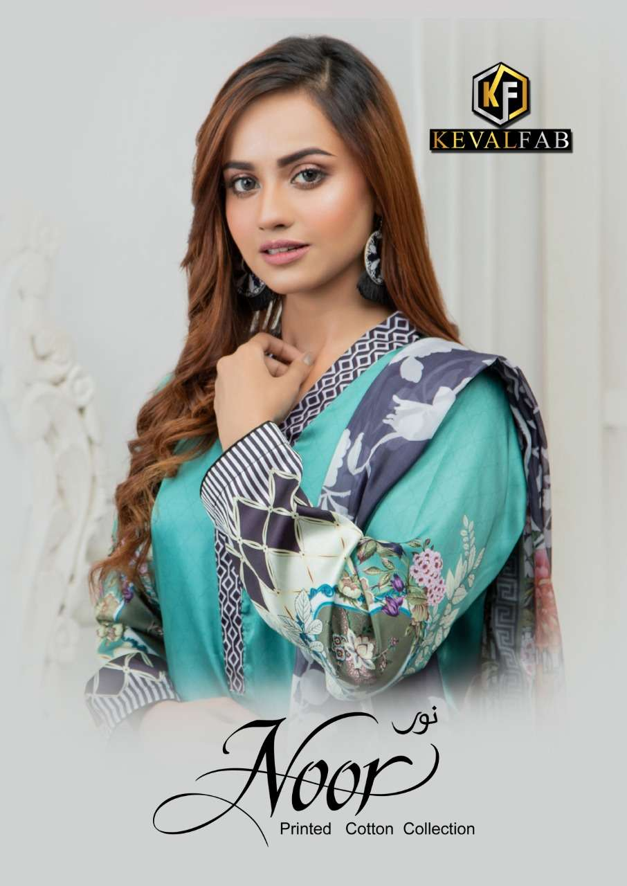 Keval Fab Noor Vol 2 Cotton printed Regular Wear Dress Material Collection