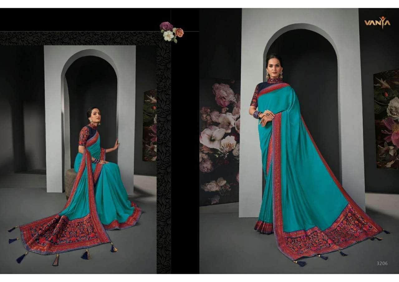 Vanya Vol 22 heavy silk wedding wear saree collection 06