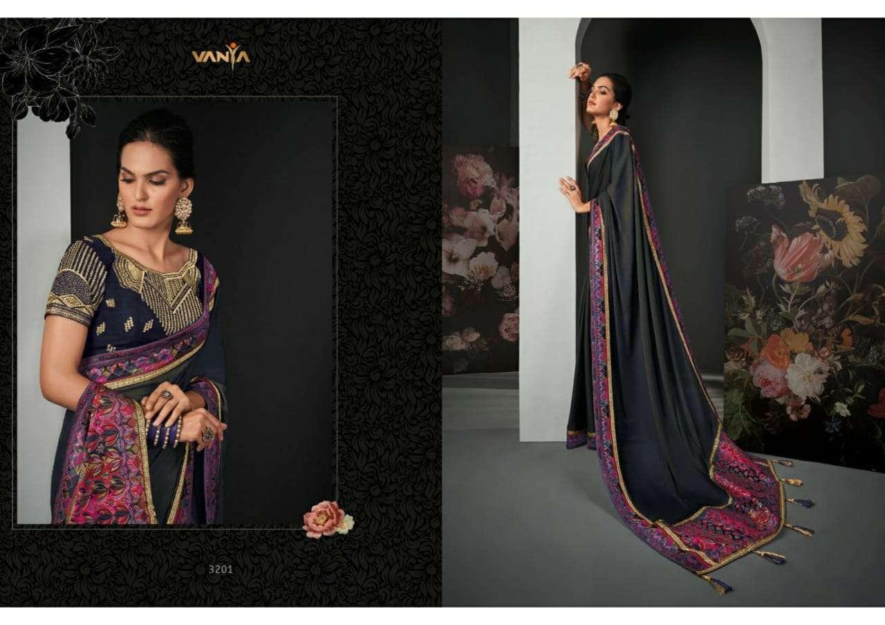 Vanya Vol 22 heavy silk wedding wear saree collection
