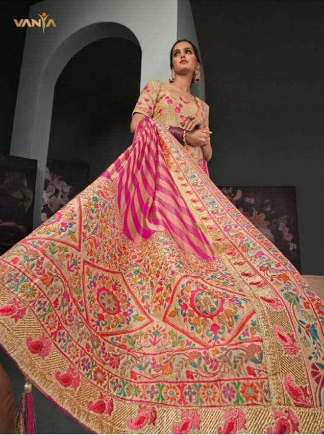 Vanya Vol 22 silk Designer Heavy Sarees Collection
