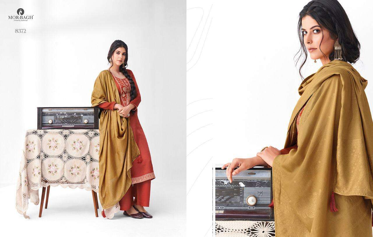 Aashirwad Creation Mor Bagh Sangeet Premium Silk Fancy Designer Salwar Kameez 03
