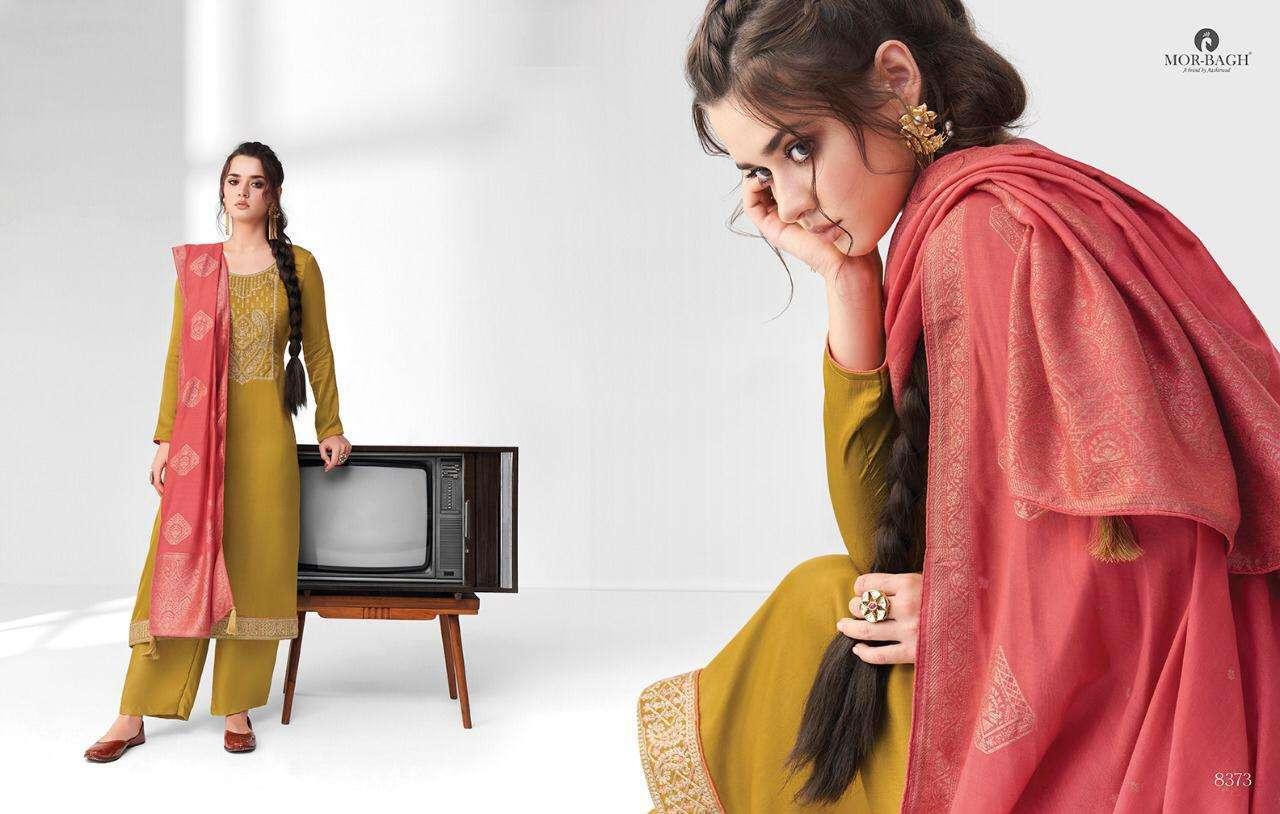 Aashirwad Creation Mor Bagh Sangeet Premium Silk Fancy Designer Salwar Kameez 04