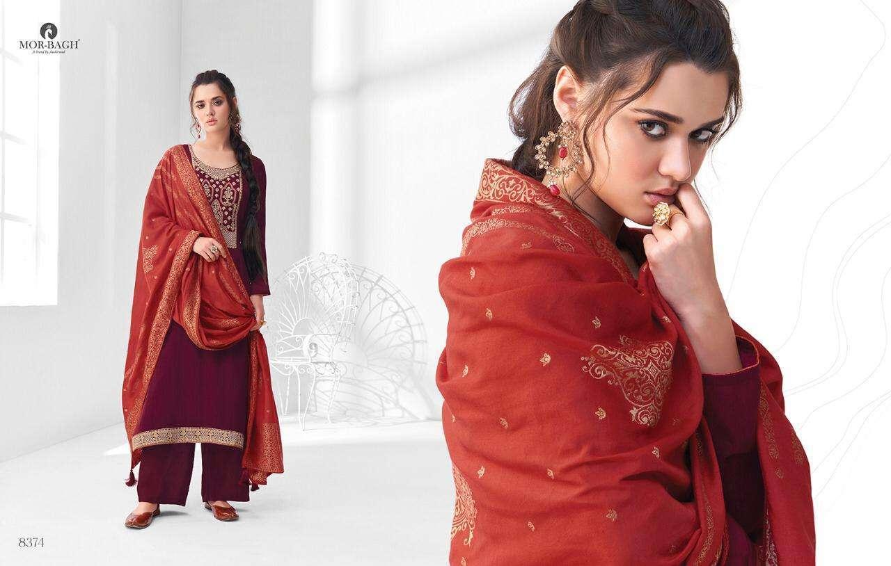 Aashirwad Creation Mor Bagh Sangeet Premium Silk Fancy Designer Salwar Kameez 05