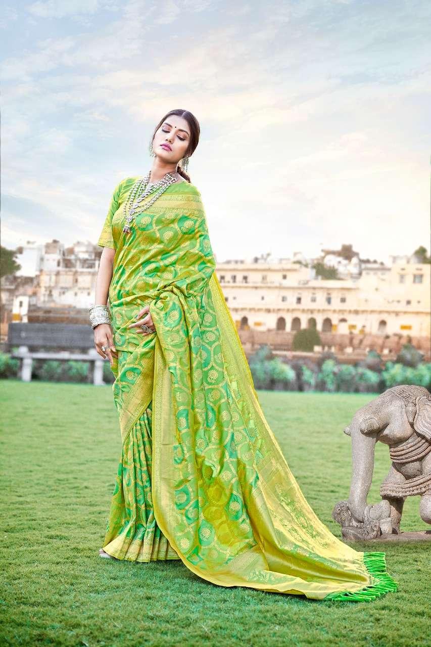 Anshu soft silk party wear saree collection 02