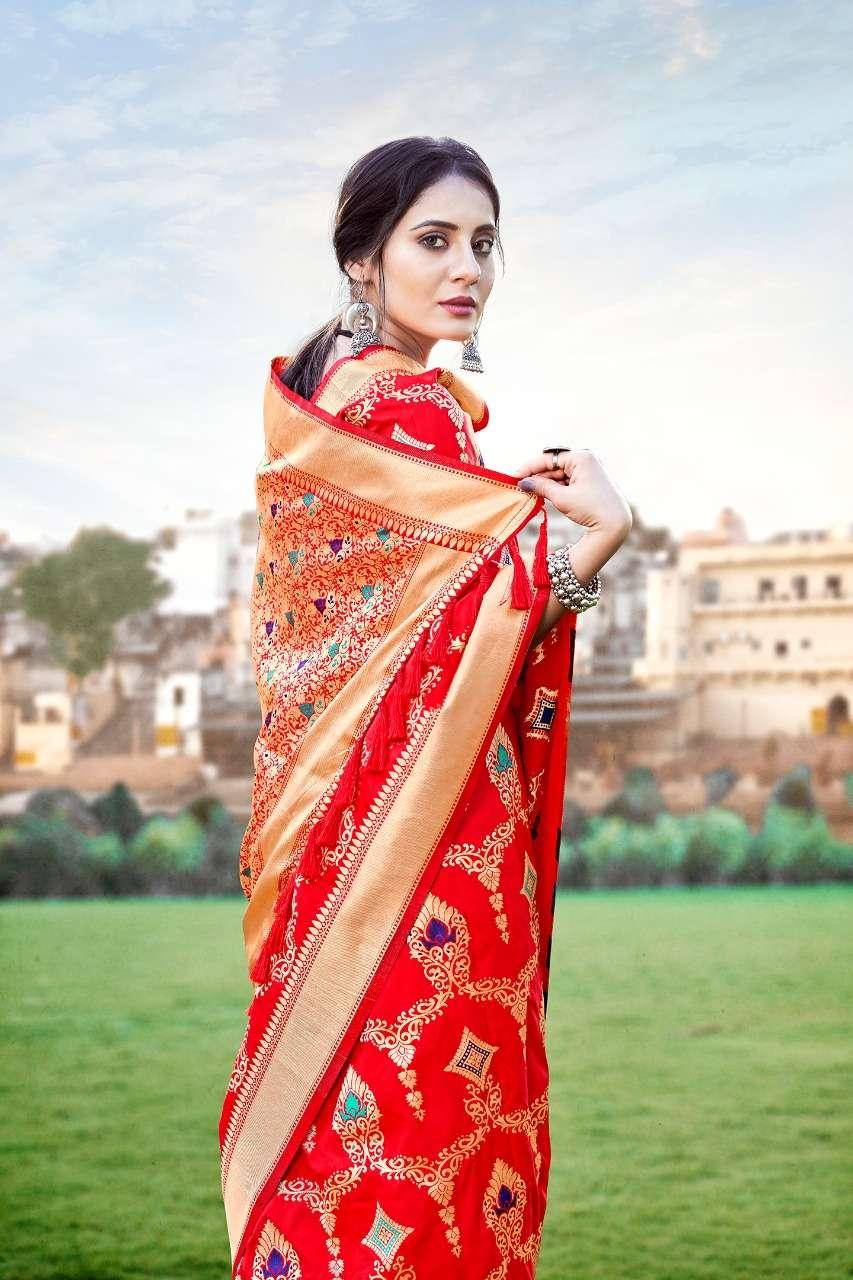 Anshu soft silk party wear saree collection 03