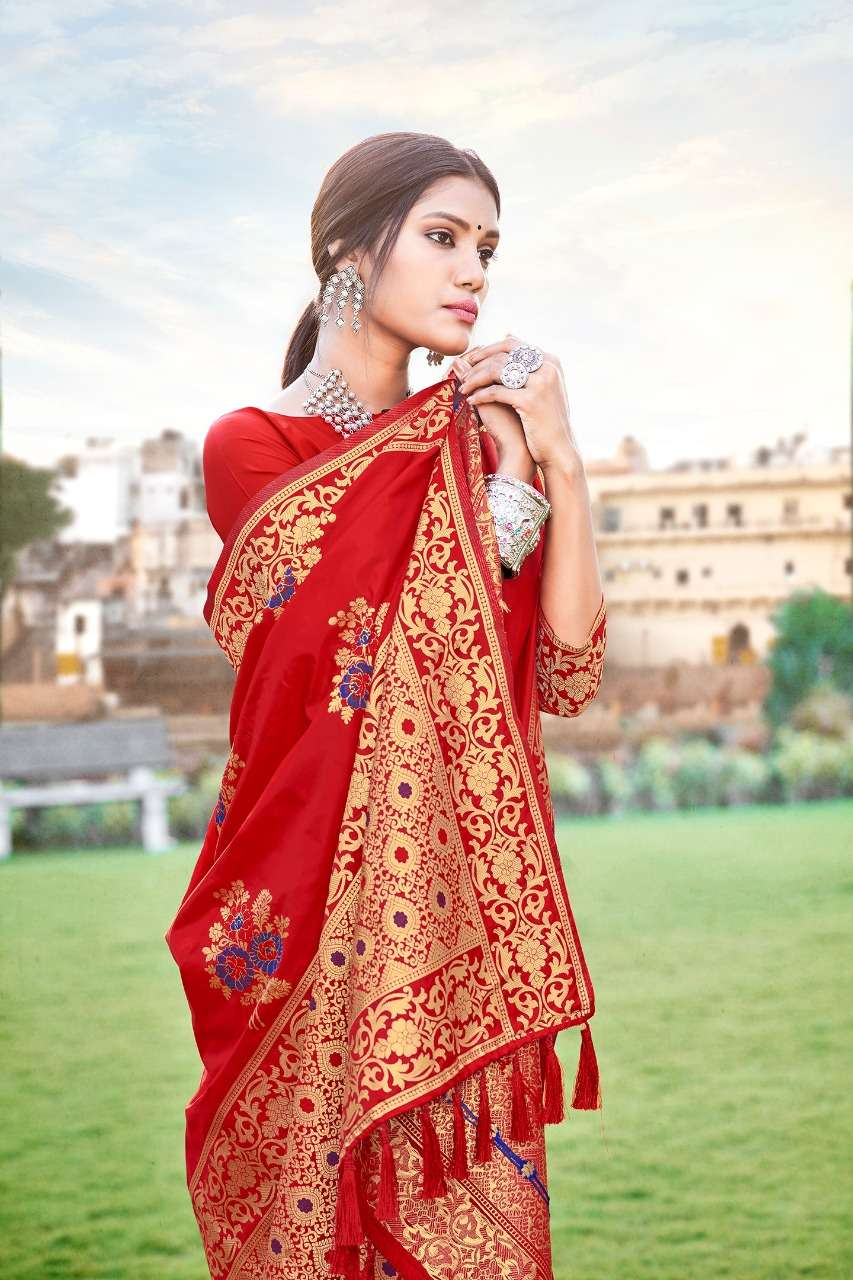 Anshu soft silk party wear saree collection 04