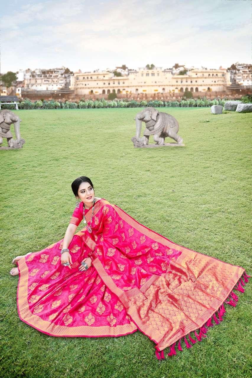 Anshu soft silk party wear saree collection 05