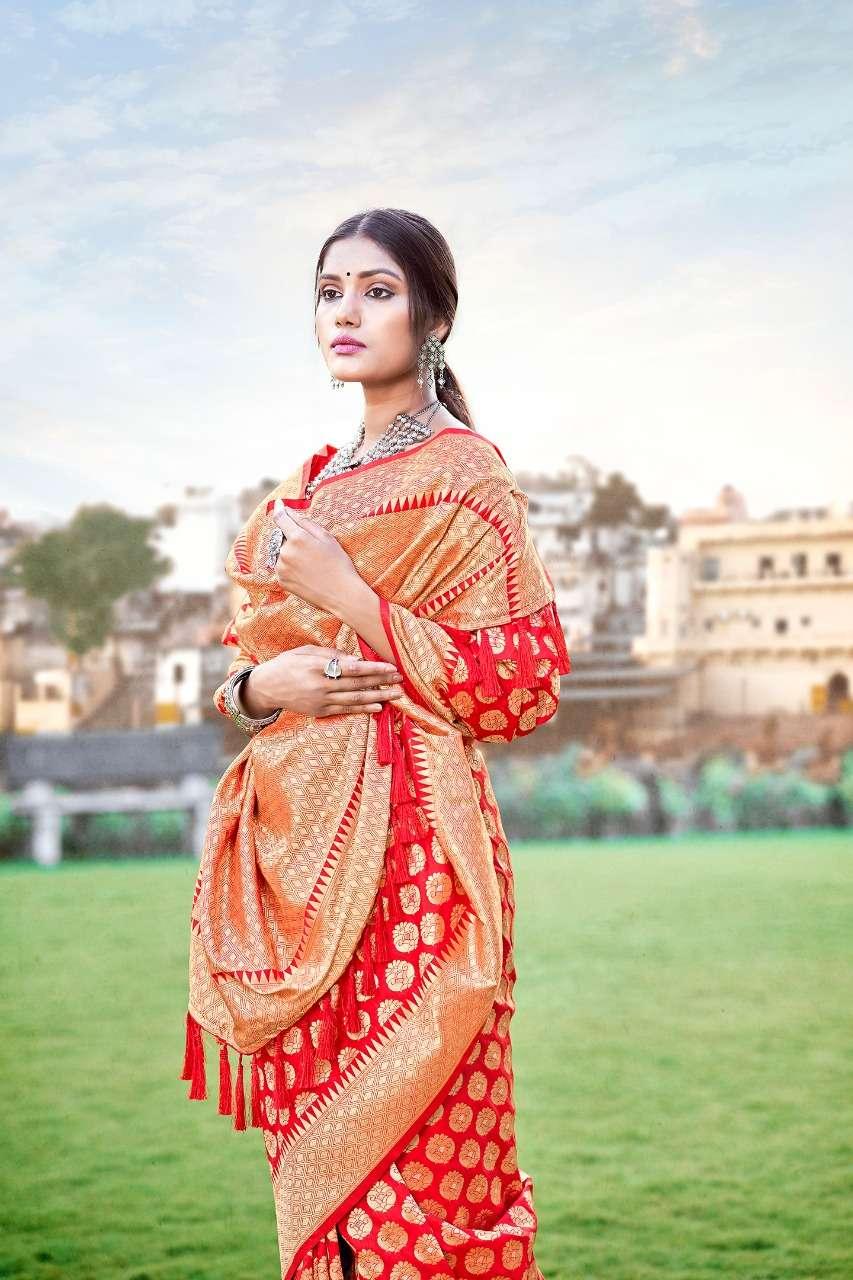 Anshu soft silk party wear saree collection 06