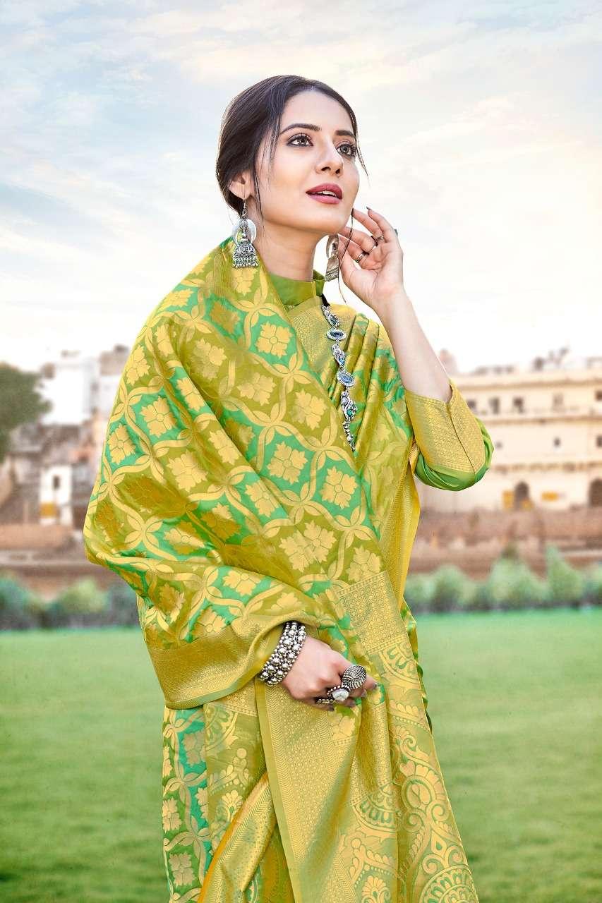 Anshu soft silk party wear saree collection