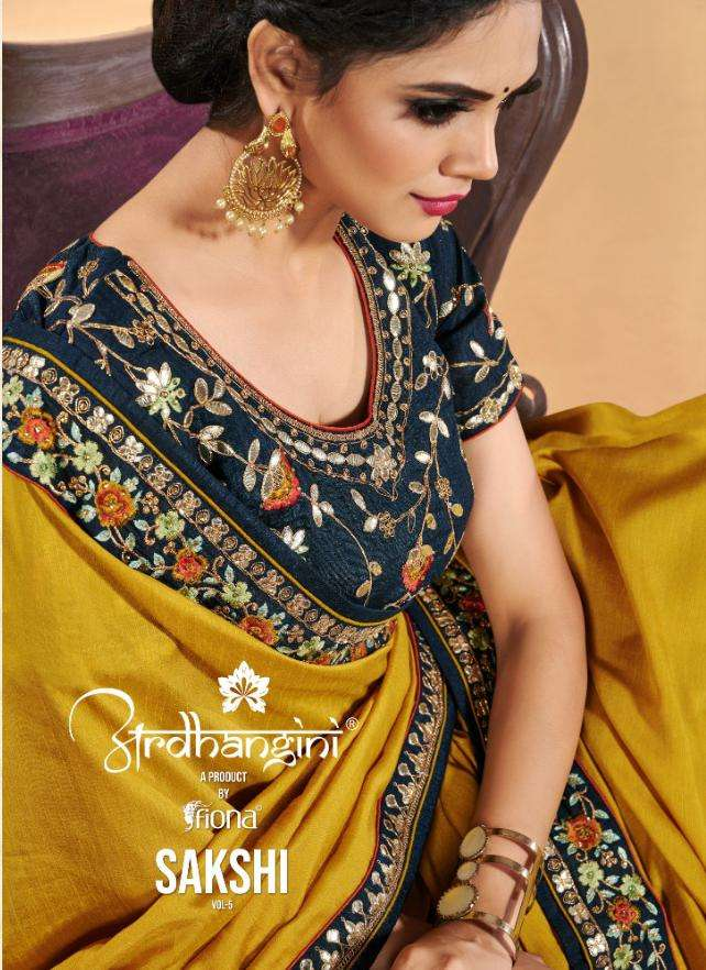 Ardhangini Sakshi Vol 5 Heavy Dola Silk Sarees Collection