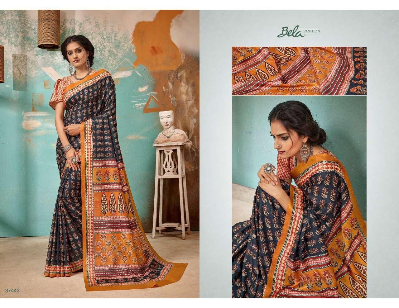Bela Fashion Tulsi Khadi Silk With Digital Print Sarees Collection 02