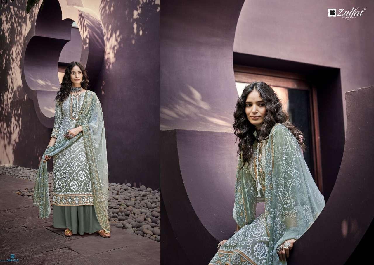 Belliza Designer Studio Zulfat Summer Queen Cotton Digital Print Dress Material Collection0 4
