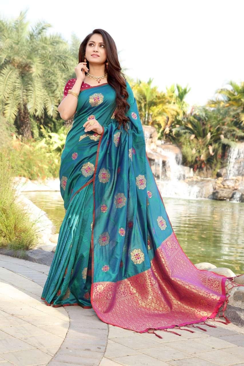 cotton silk with gold jari weaving saree collection  04