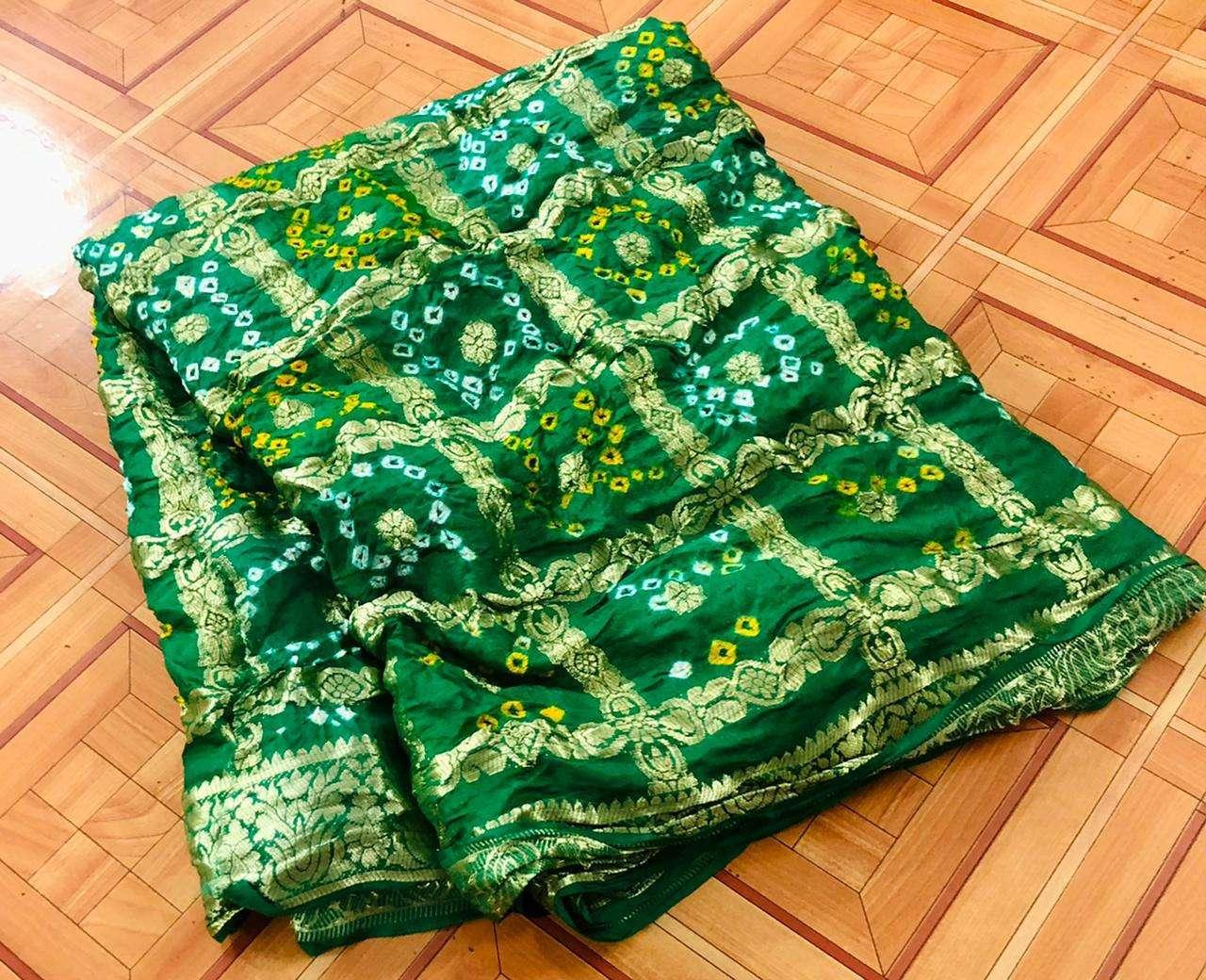 cotton traditional bandej design saree collection 03