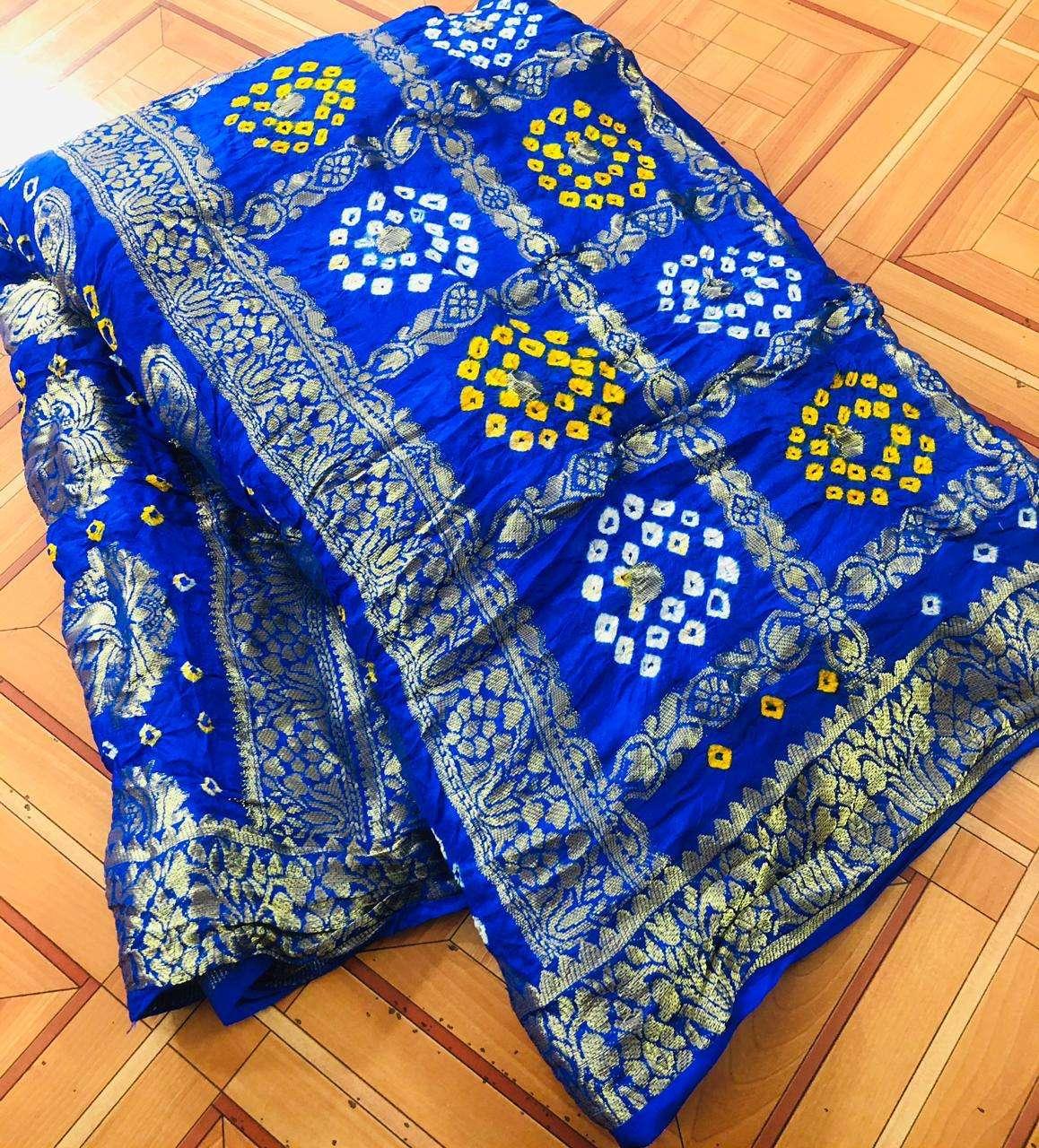 cotton traditional bandej design saree collection 04