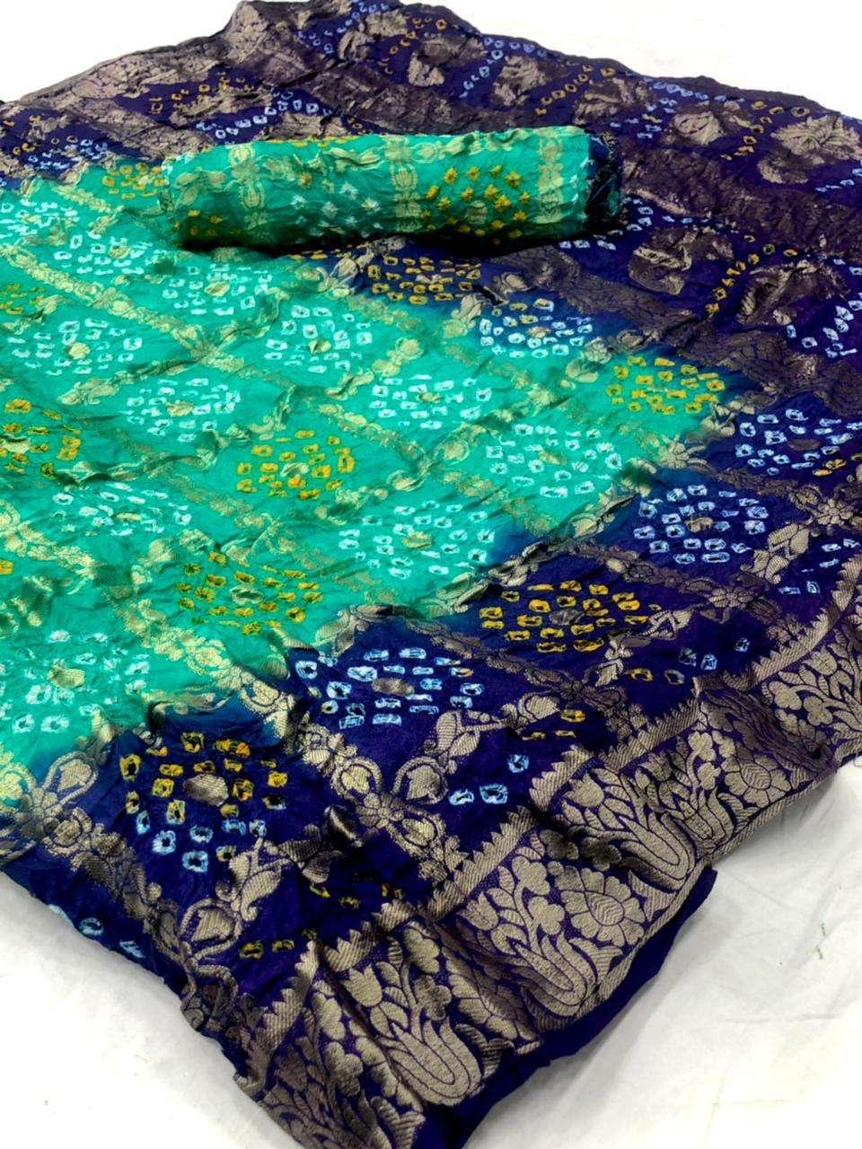 cotton traditional bandej design saree collection 06