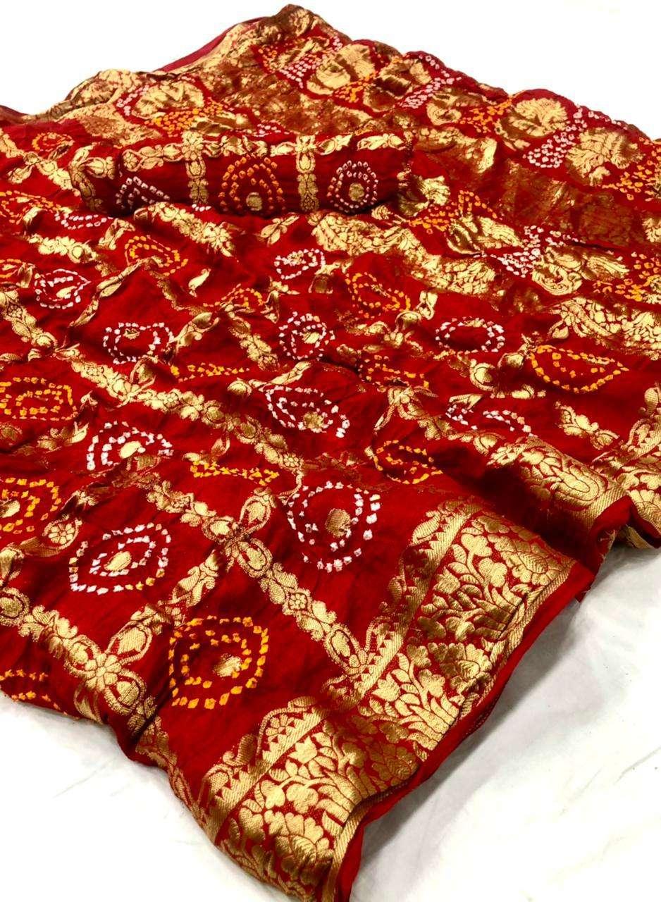 cotton traditional bandej design saree collection 07