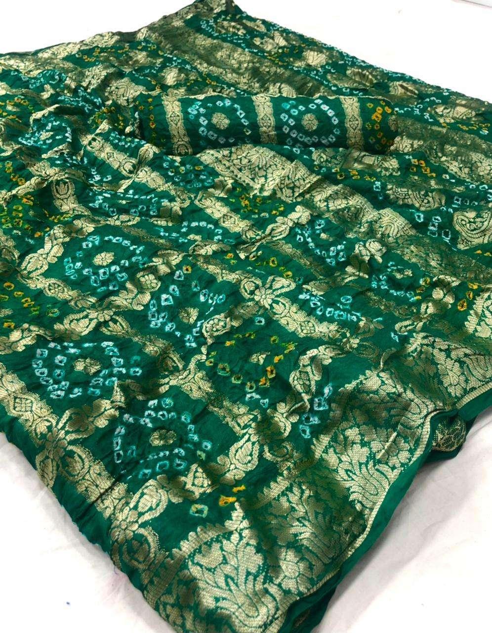 cotton traditional bandej design saree collection 08